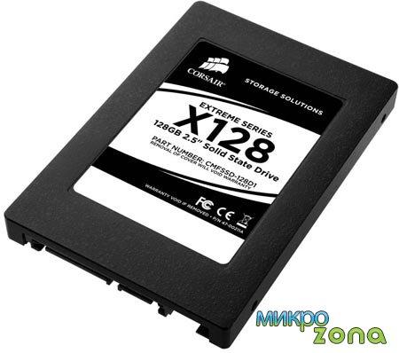 Высокопроизводительные SSD серии Extreme от Corsair