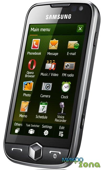 Новый коммуникатор - Samsung i8000 Omnia II